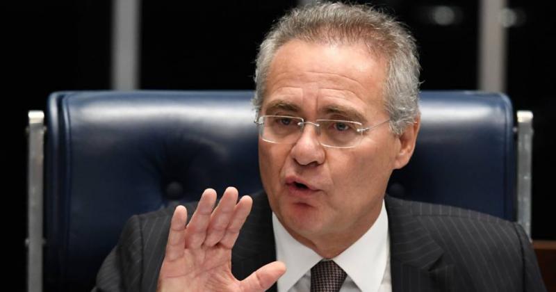 Renan Calheiros acusa Temer de negociar com Janot para salvar amigos