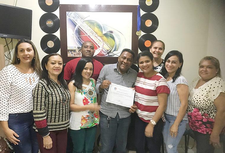 CMAS/Timon entrega certificação ao Instituto Cocais