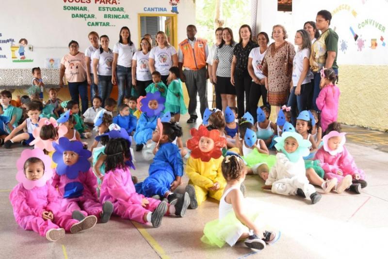 Meio ambiente realiza atividades em escolas municipais na Semana da Água