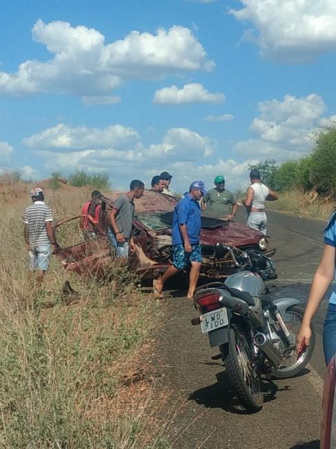 Acidente deixa uma pessoa morta e outra ferida no Piauí