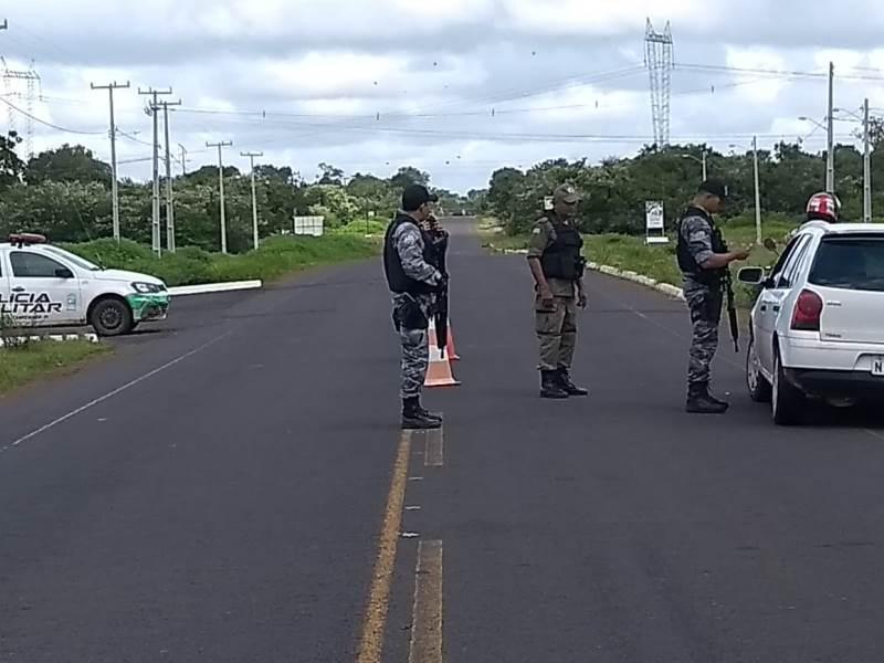 Blitz em Campo Maior são intensificadas para coibir a ação de criminosos