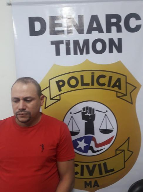 Denarc/Timon prende em flagrante indivíduo acusado da tráfico de 'Crack'