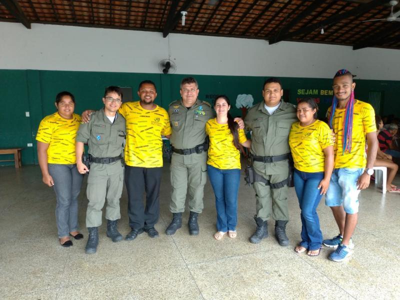 Prefeitura de Água Branca e Polícia Militar promovem palestra para jovens