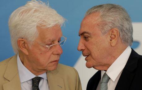 Marco Aurélio nega liberdade ao ex-ministro Moreira Franco