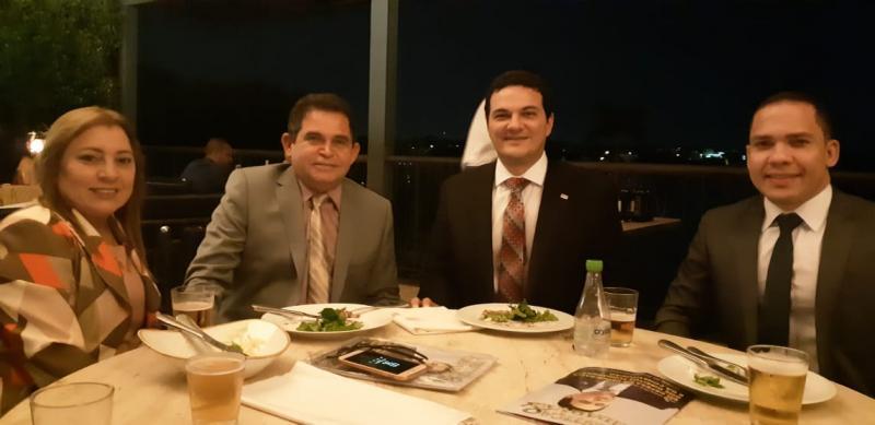Conselheiro da OAB Piauí Francisco Viana prestigia evento do CFOAB