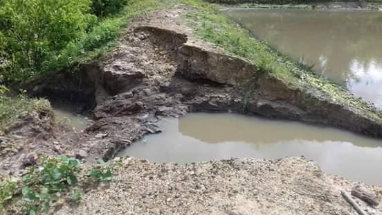 Chuva danifica açudes e causa prejuízos a famílias em São João do Arraial