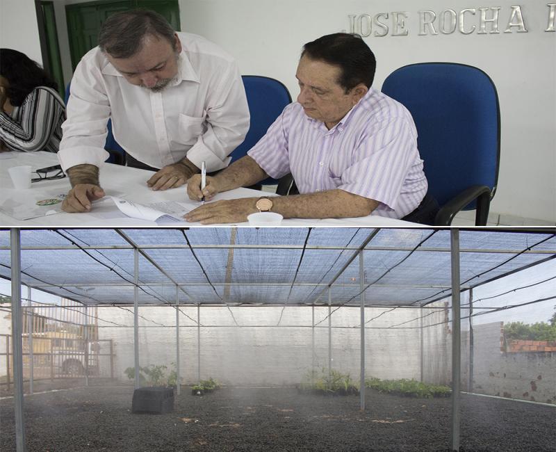 Prefeitura de Uruçuí inaugura viveiro