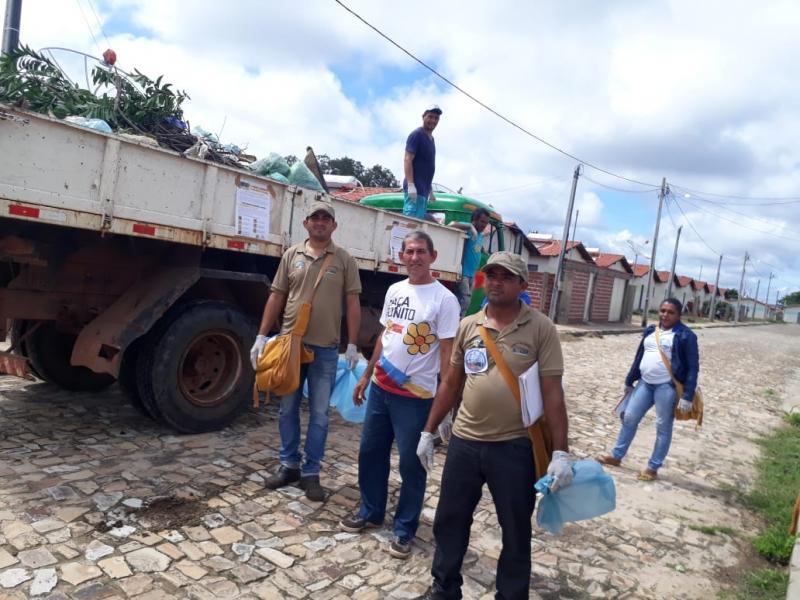 Prefeitura de Pau D'arco realiza mutirão contra a dengue