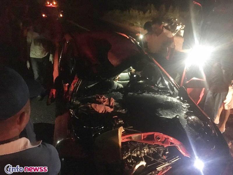 Acidente envolvendo carro e caminhão deixa professora morta na PI-243
