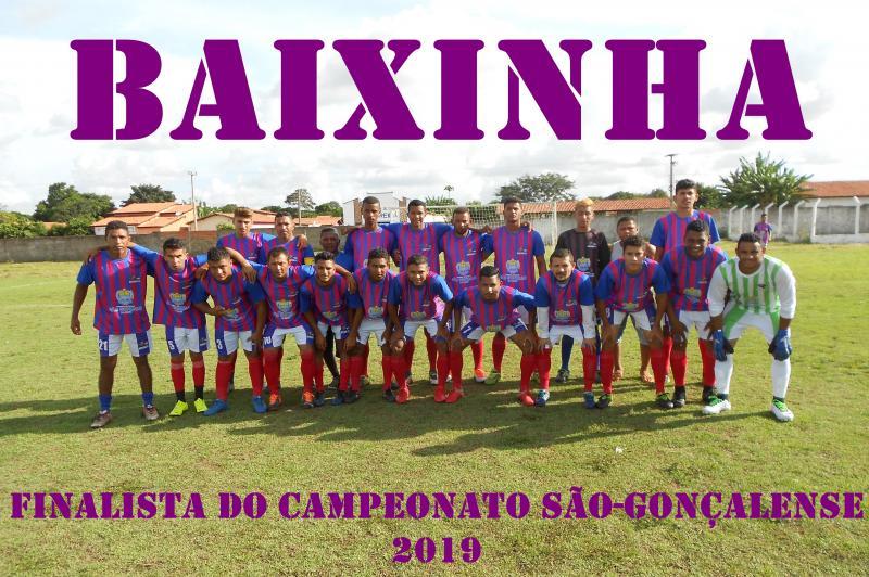 Baixinha derrota Lagoa do Coco e está na final do campeonato São-gonçalense