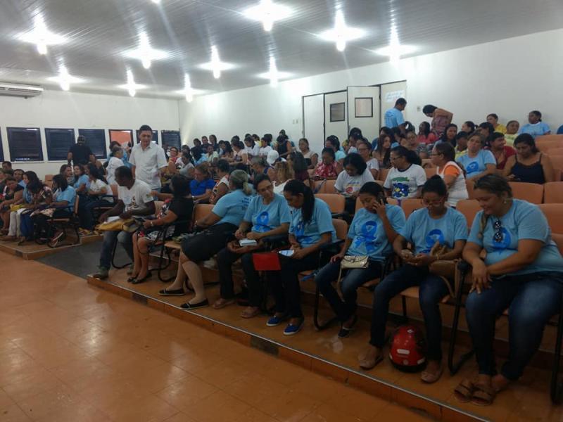 Profissionais da Saúde de Floriano participam de treinamento sobre o e-SUS
