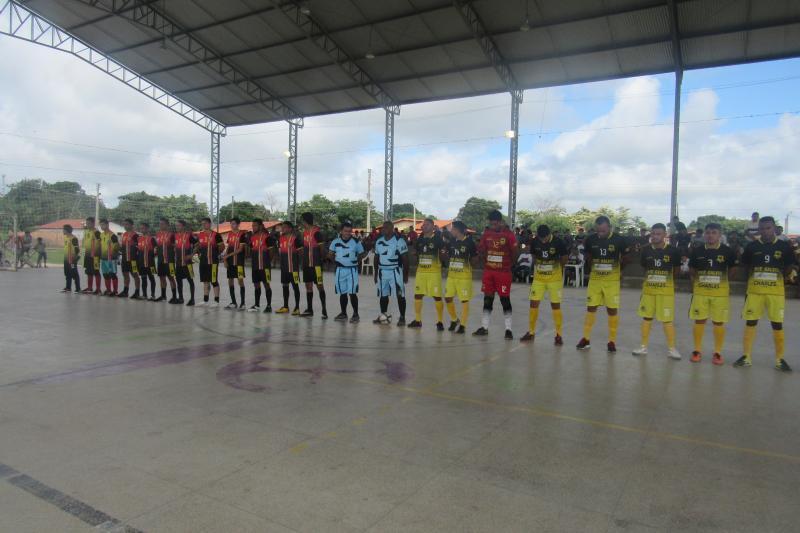 Aconteceram mais dois jogos pela Copa Cocais de futsal neste domingo (24)