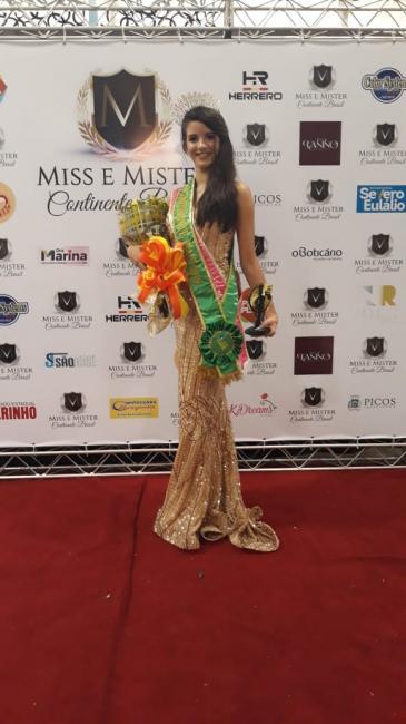 Conceiçãonense é Eleita a Miss Continente Piauí