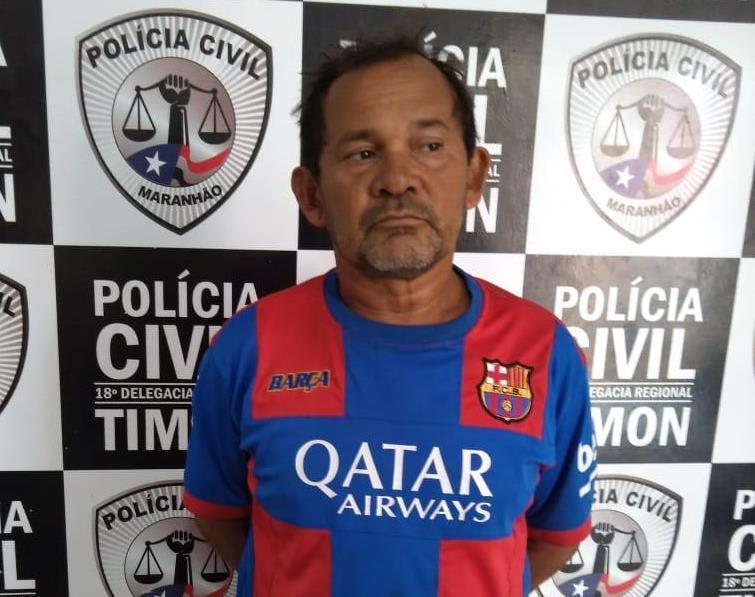 Condenado por estupro de vulverável é preso pela Civil/Timon