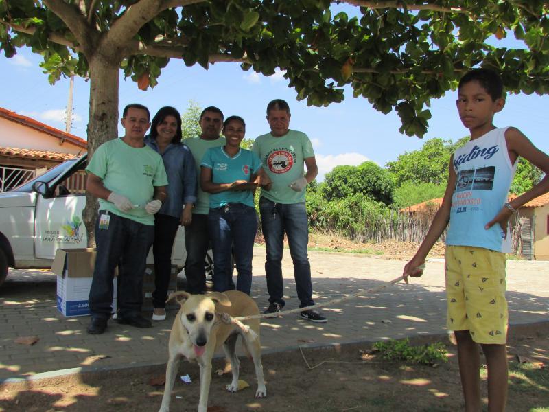Secretaria de Saúde de Lagoinha do Piauí inicia campanha de vacinação antirrábica