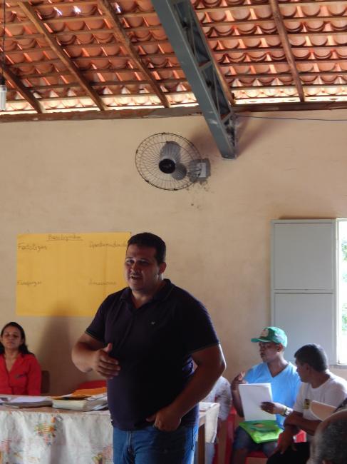 PROGERE II realiza 2ª reunião em Assentamento de Beneditinos