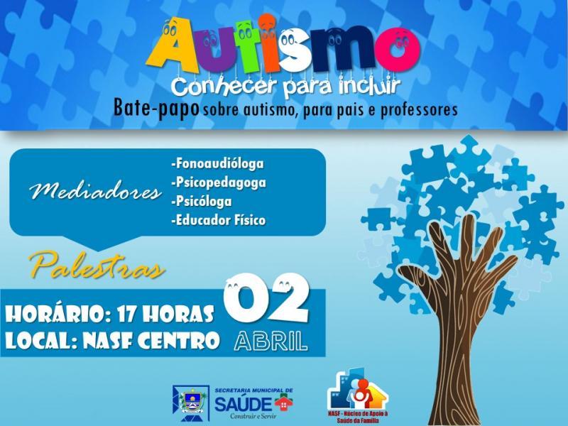 Governo de Luzilândia vai realizar bate-papo sobre o autismo