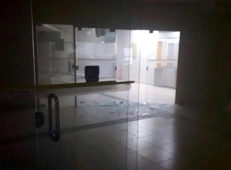 Bandidos explodem agência do Banco do Brasil  no Piauí