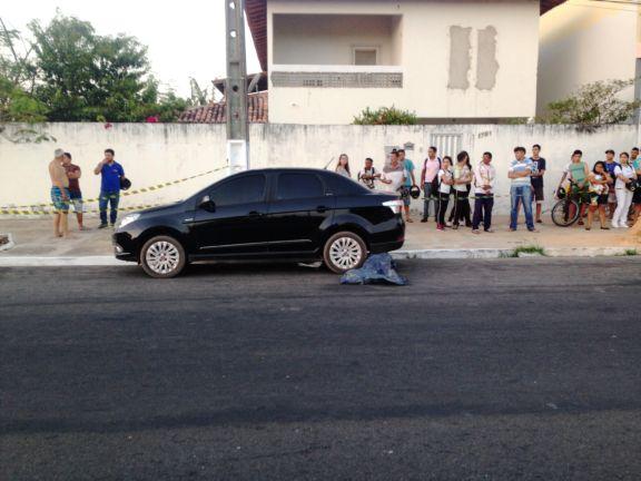 Homem morre após ser atropelado e arremessado em avenida no Piauí