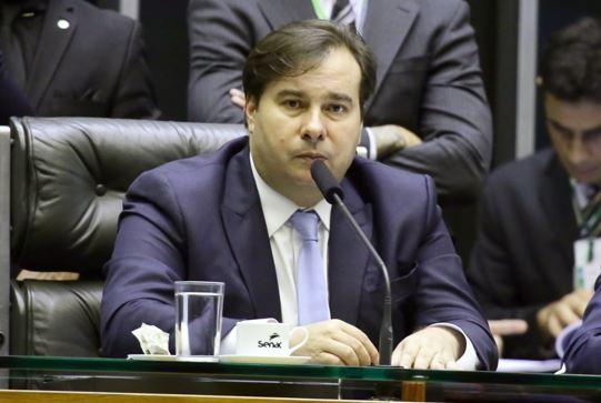 O presidente da Câmara, Rodrigo Maia (DEM-RJ) — Foto: Luís Macedo/Câmara dos Deputados