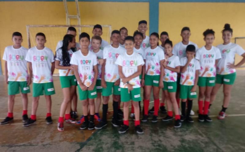 SEMASC realiza campeonato de futebol com crianças e adolescentes