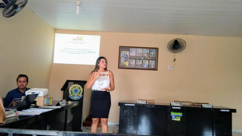 Secretaria Saúde de Barro Duro realiza audiência para prestação de contas