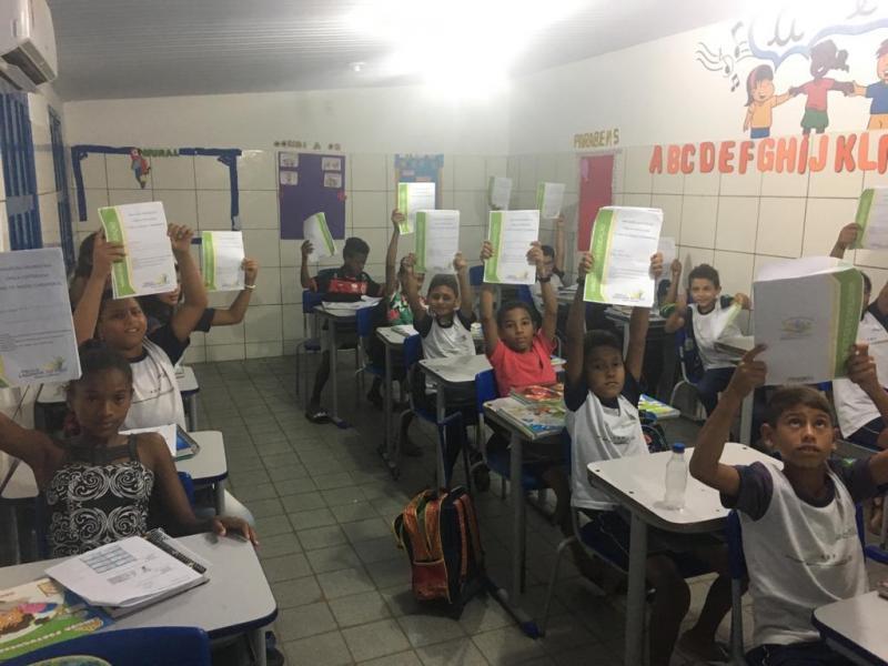 Secretaria de Educação realiza primeira avaliação da prova Saeb