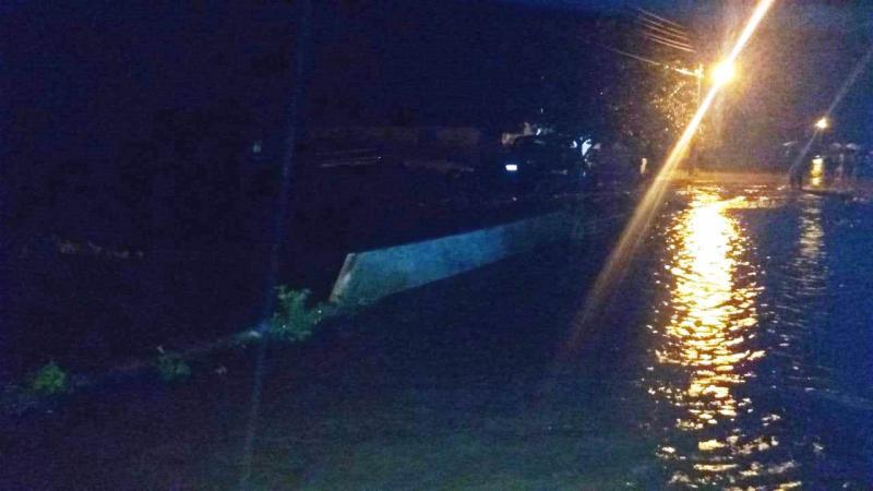 Chuva forte causa alagamento e prejuízos em Capitão de Campos