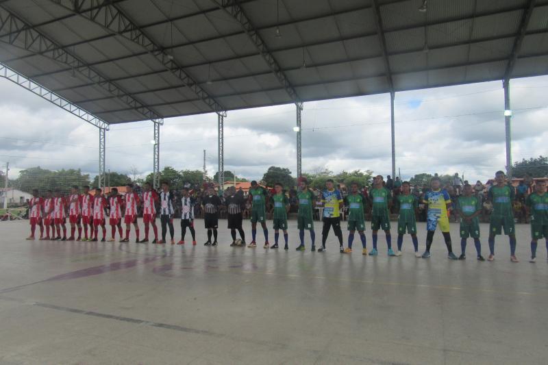 Aconteceu mais um jogo pela Copa Cocais de futsal em São João do Arraial