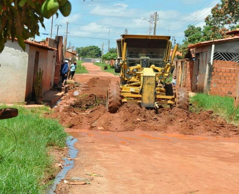 """Projeto """"Pavimenta Corrente"""" contempla novas ruas"""