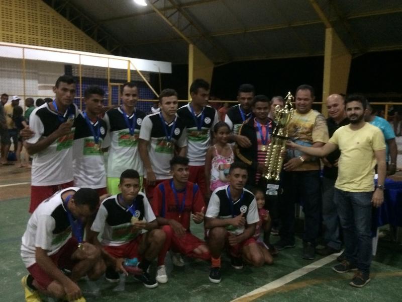 Fonte Nova é campeão do I Campeonato de Futsal de Pau D'arco do PI
