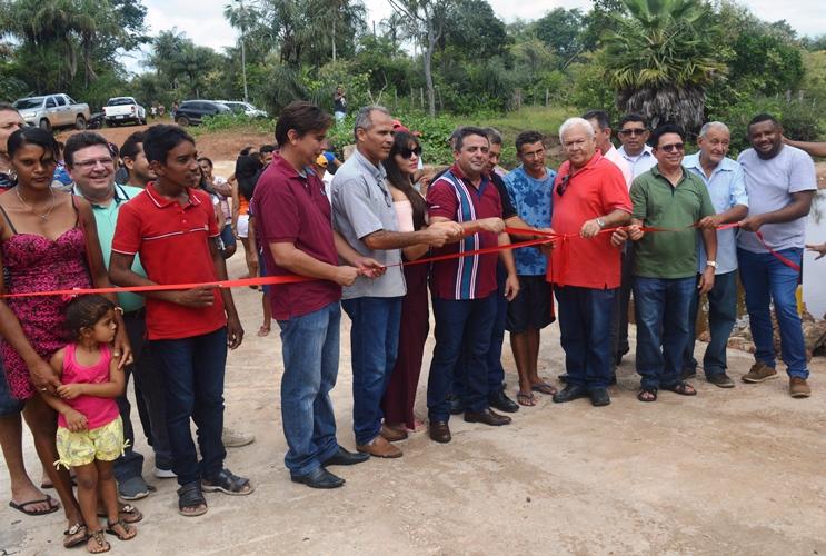Prefeitura de Campo Maior entrega mais uma obra na zona rural do município