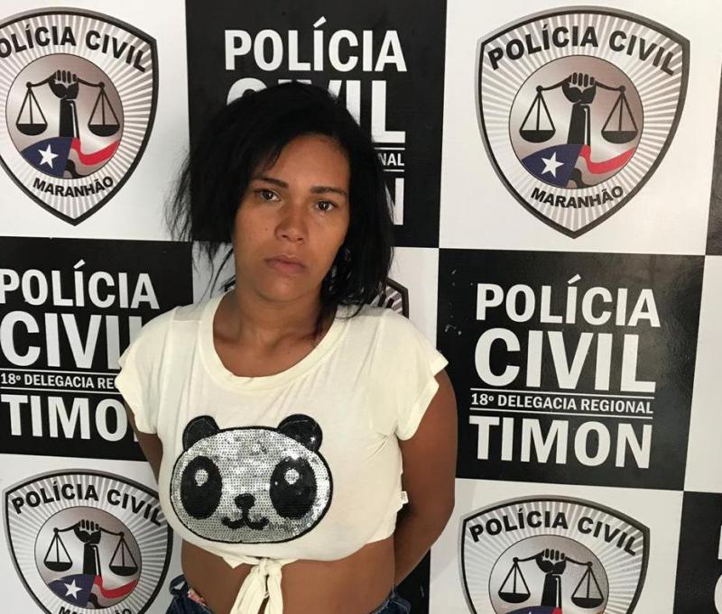 Polícia Civil/Timon cumpre mandado e prende mulher acusada de roubo