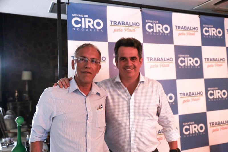 Vereador Neinho consegue recursos com senador Ciro Nogueira do PP