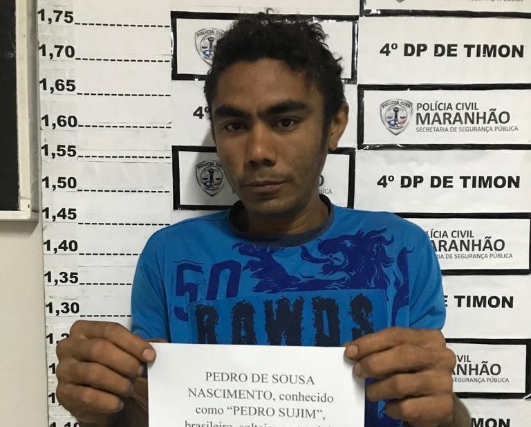 'Pedro Sujim' é tido pela polícia como um elemento altamente perigoso.