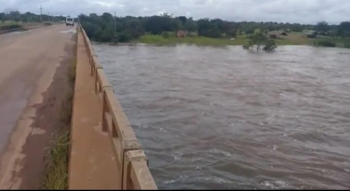 Rio Longá entre Batalha e Barras ganha grande volume de água
