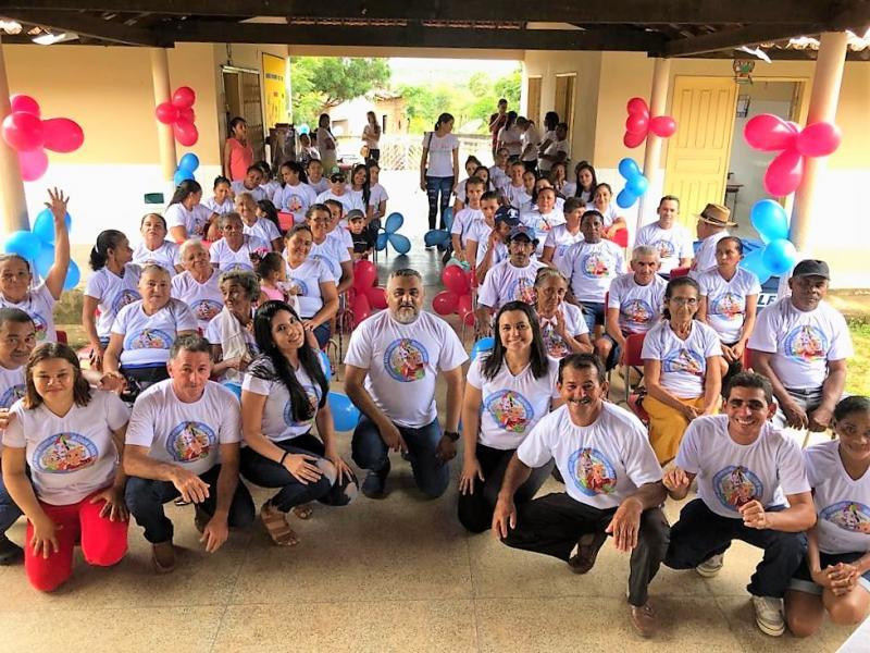 ESF promove atividade com idosos na comunidade Barro Vermelho