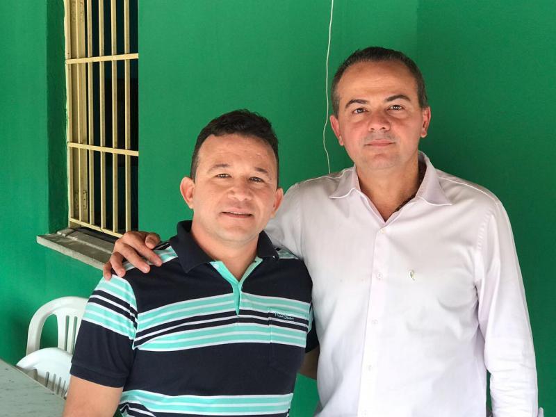 Presidente do PSC de Cabeceiras Plínio Melo recebe visita do presidente estadual do partido