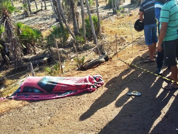 Motociclista morre após colidir com animal no litoral do Piauí