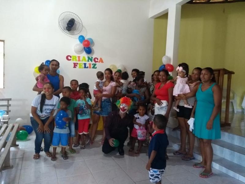 Programa Criança Feliz realiza oficina no Assentamento Veredas II