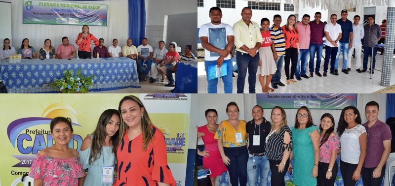 Caridade do Piauí promove plenária e discute sobre Democracia e Saúde