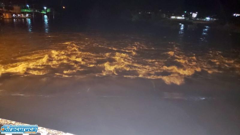Rio Piracuruca deverá receber grande volume de água