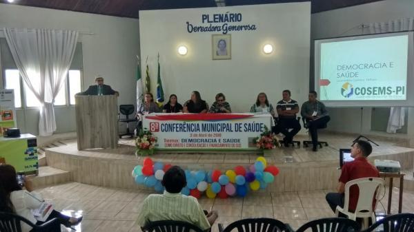 Saúde realiza 8ª Conferência Municipal de Saúde em Angical