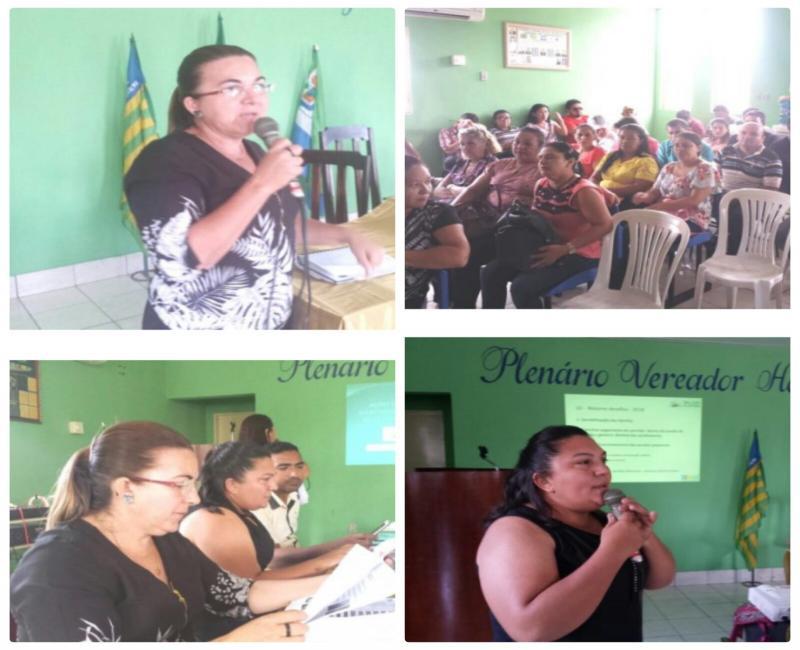 Prefeita Vilma Lima presta contas em audiência pública na Câmara Municipal
