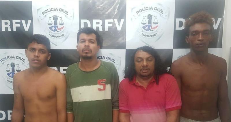 Bando que roubava e desmanchava camionetes é preso em São Luís