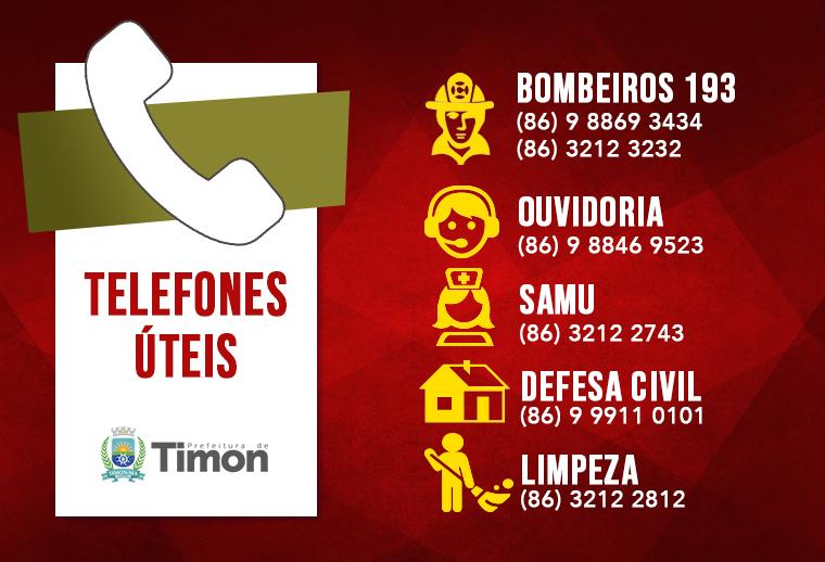 Prefeitura de Timon está em alerta durante fortes chuvas