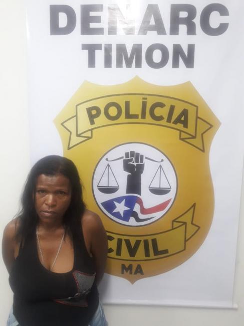 'Sibita' é presa em flagrante pela Senarc/Timon