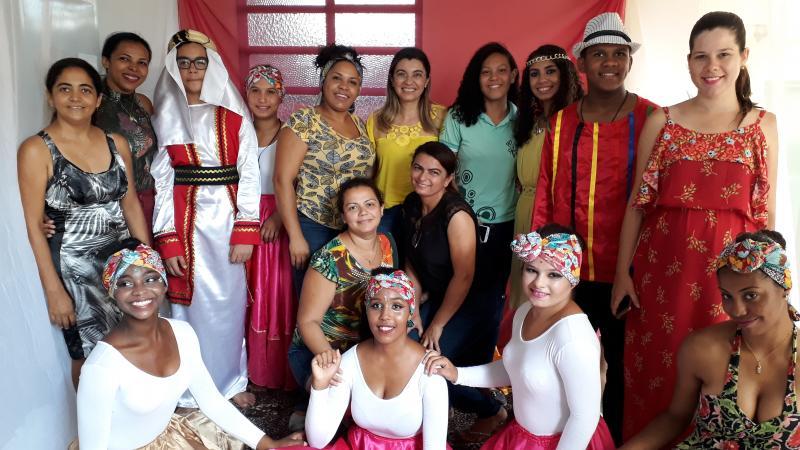 Escola Municipal Ministro Hugo Napoleão realizou o projeto África, minha mãe
