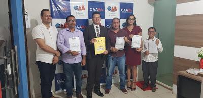 Dr. Ribamar Ferreira toma posse na OAB de Pinheiro-Ma