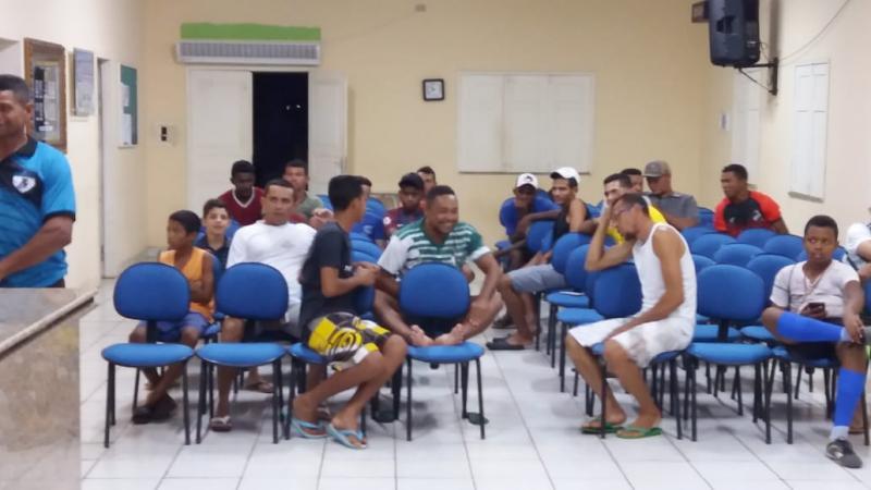 23º Campeonato municipal de   futebol terá início dia 13 de Abril